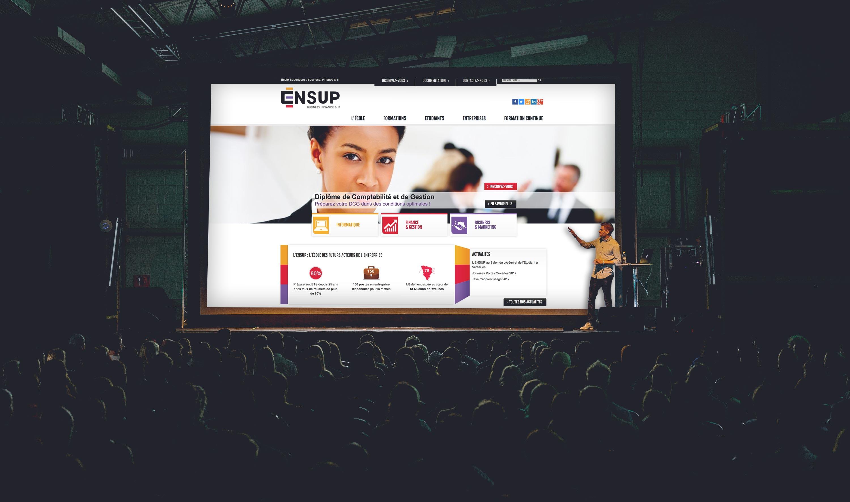 ensup-site-web-portfolio